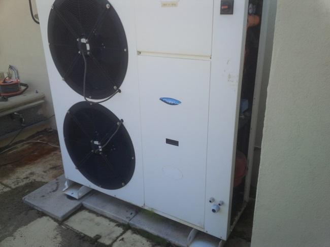 installation de pompes a chaleur