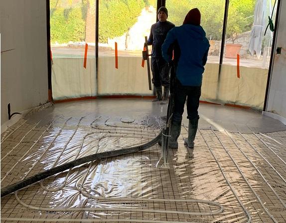 under floor heating specialist Valbonne